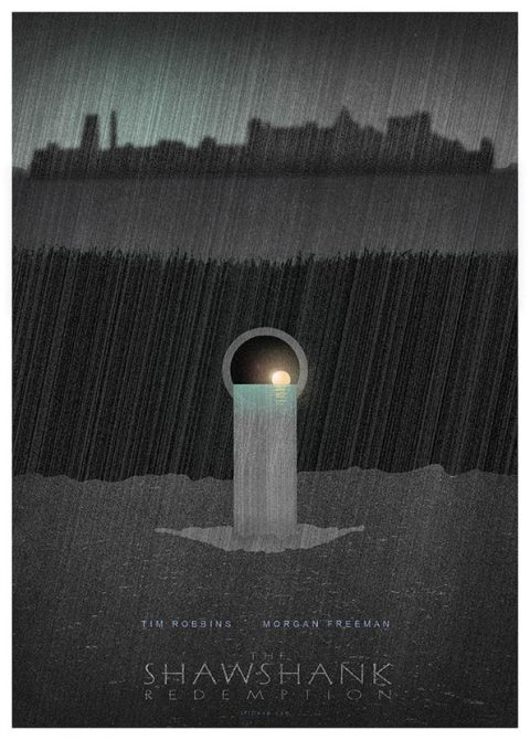 Shawshank Redemption Poster2 by 3ftDeep