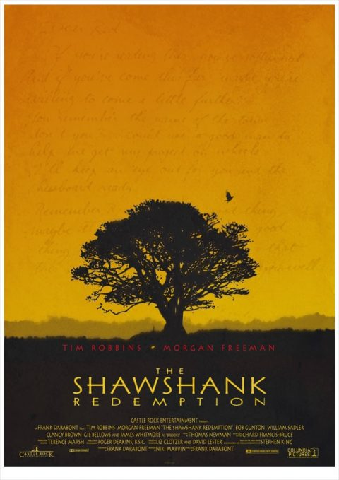 Shawshank Redemption Poster3 by 3ftDeep