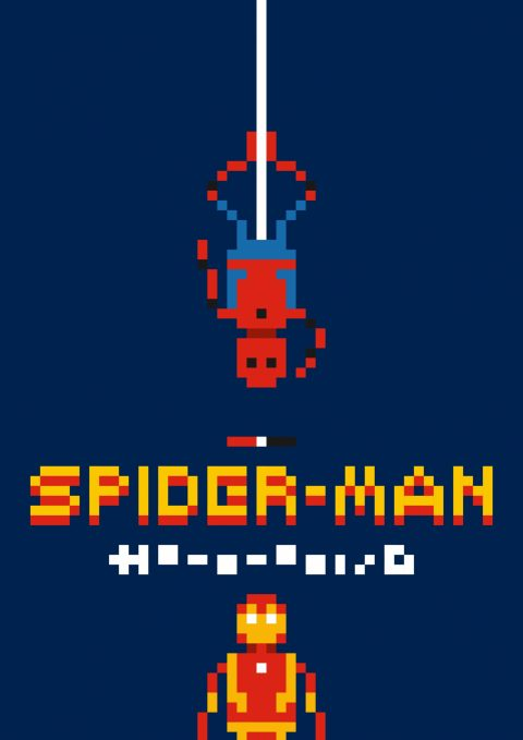 Spider-Man Homecoming Pixelstyle
