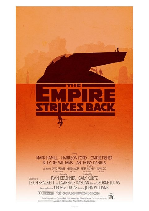 Star Wars – The Empire Strikes Back by 3ftDeep