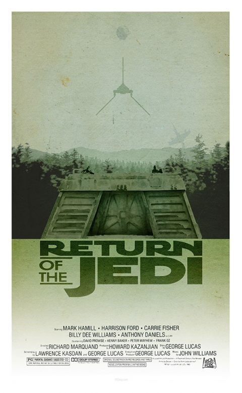 Star Wars – The Return of the Jedi by 3ftDeep