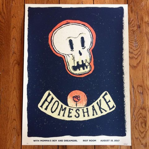 Homeshake Gig Poster