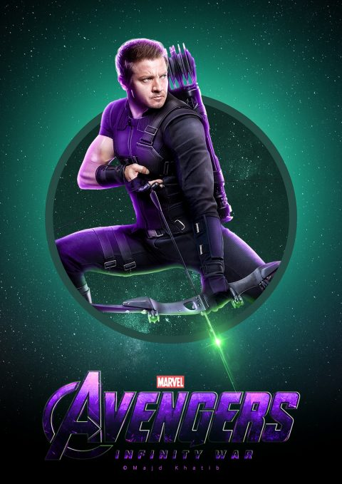 "Avengers ""Infinity War"" – Hawkeye"