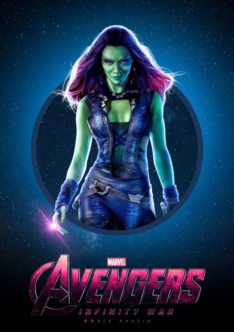 "Avengers ""Infinity War"" – Gamora"