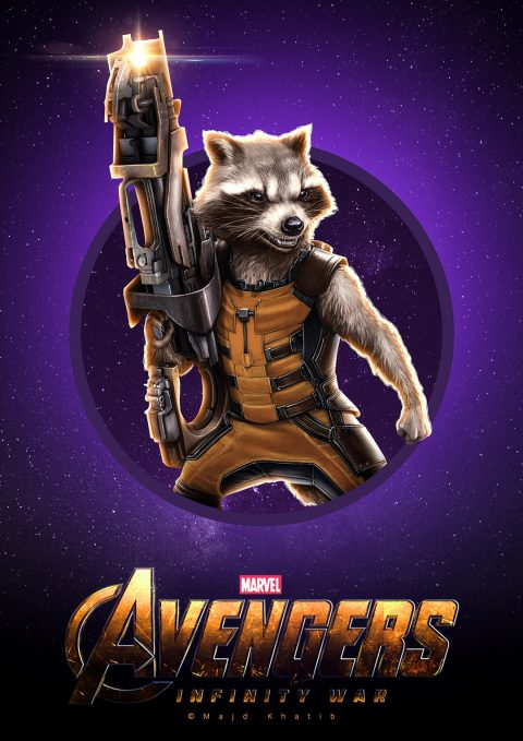 "Avengers ""Infinity War"" – Rocket Raccoon"