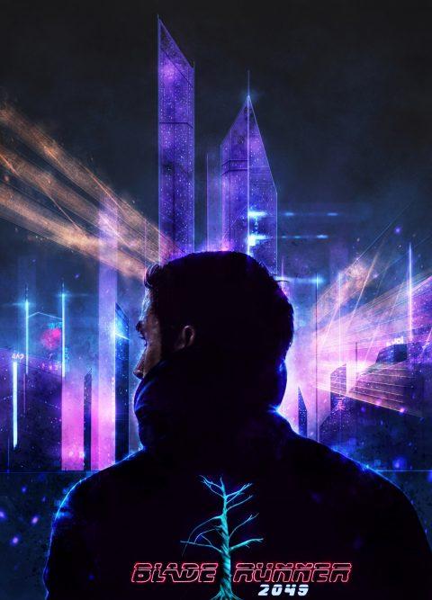 Blade Runner 2049 Neon City.