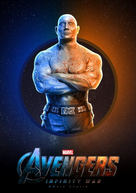 "Avengers ""Infinity War"" – Drax"