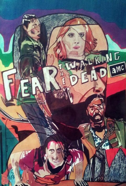 Plakat do Fear the walking dead