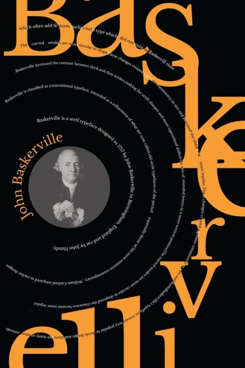 typography baskerville