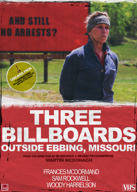 Three Billboards (VHS)