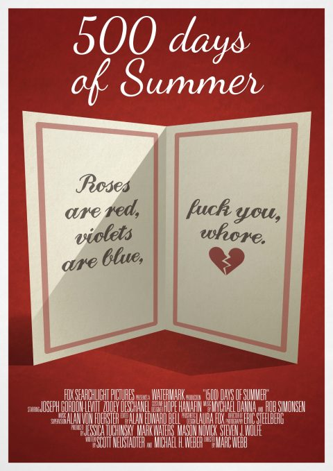 500 days of Summer Valentine's Card