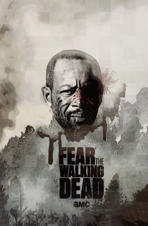 POSTER Fear TWD S4 #FTWD-ES
