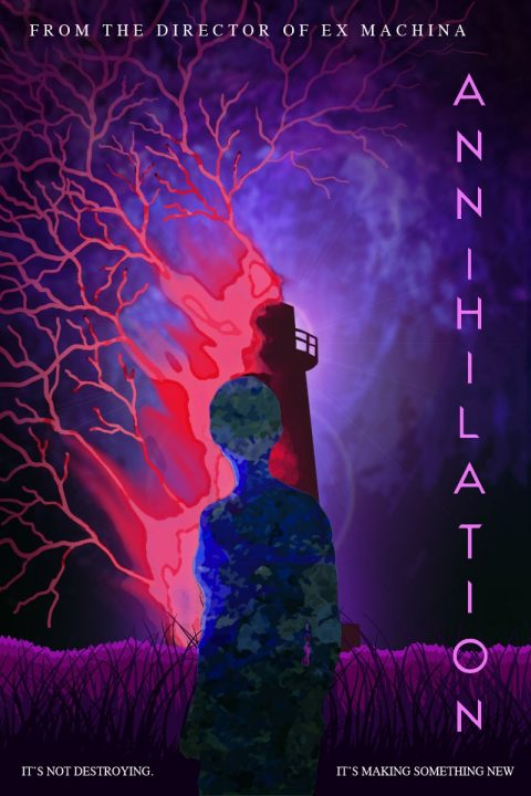 Annihilation (2018) – The Lighthouse poster