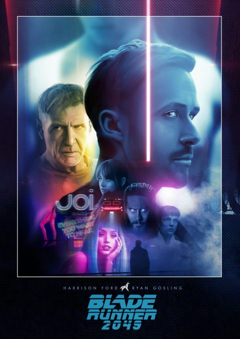 Blade Runner 2049 – The hologram framing