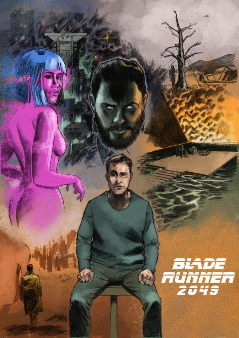 #Gallery2049 Blade Runner 2049 poster