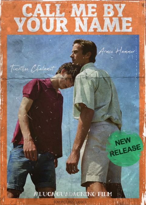 Call Me By Your Name (VHS)
