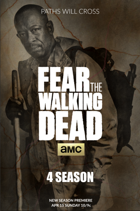 FEAR THE WALKING DEAD SEASON 4 / MORGAN – #FTWD-PT