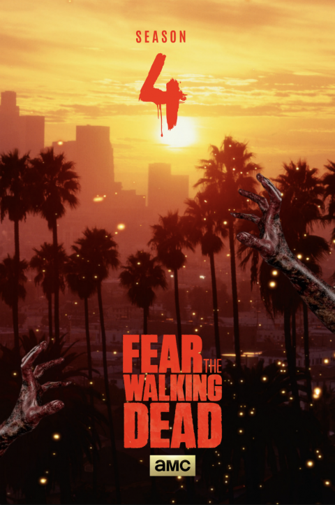 FEAR THE WALKING DEAD SEASON 4 / SUNSET AT L.A -#FTWD-PT
