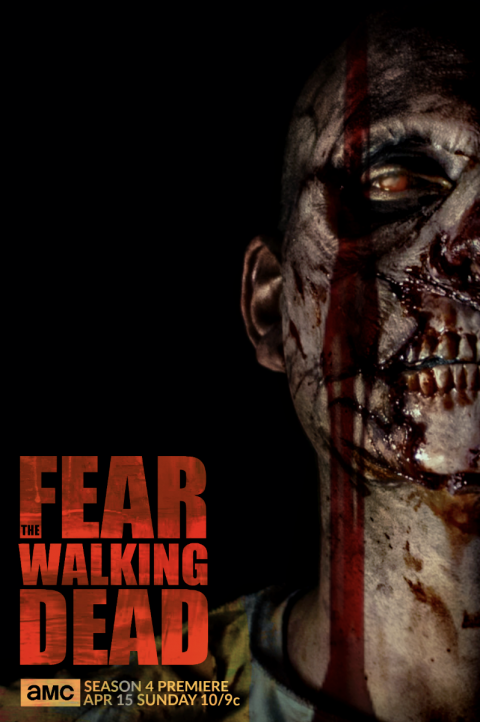 FEAR THE WALKING DEAD SEASON 4 / ZOMBIE -#FTWD-PT