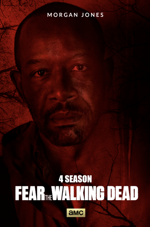 FEAR THE WALKING DEAD SEASON 4 / MORGAN JONES -#FTWD-PT