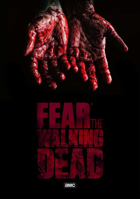 Poster Fear TWD S4 – Blood stained #FTWD-ES