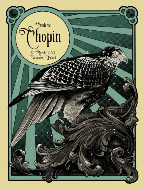 Chopin Gig Poster