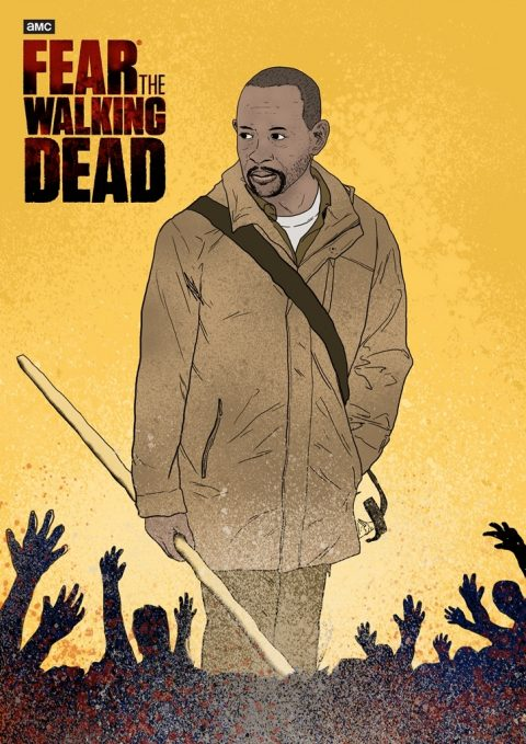 Fear The Walking Dead Poster 01 #FEARTWD