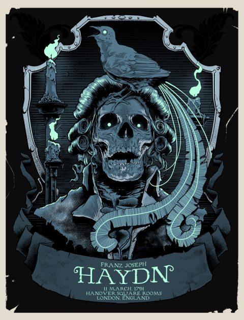 Haydn Gig poster