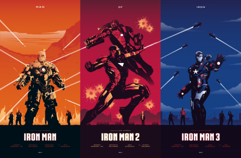 IRON MAN Trilogy