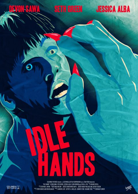 Idle Hands – Alt Poster