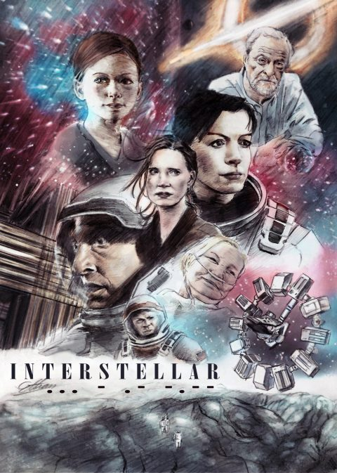 Interstellar Colored Version