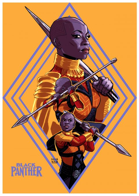 Black Panther – Okoye