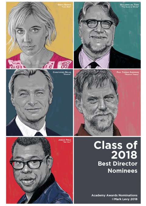 Class of 2018 — Academy Award Nominees for Best Director.