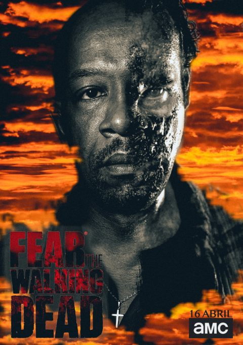 Morgan Jones Poster Fear TWD #FEARTWD #FTWD-ES