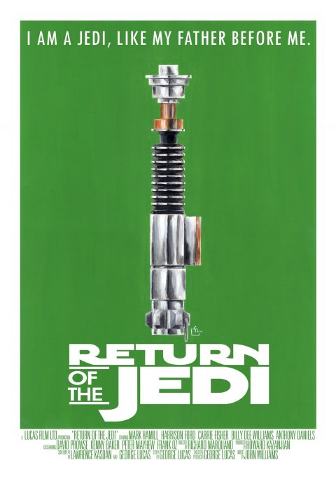 Star Wars – Return of the Jedi Poster