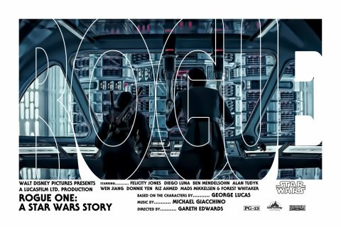 Rogue One: A Star Wars Story Alternative Movie Poster