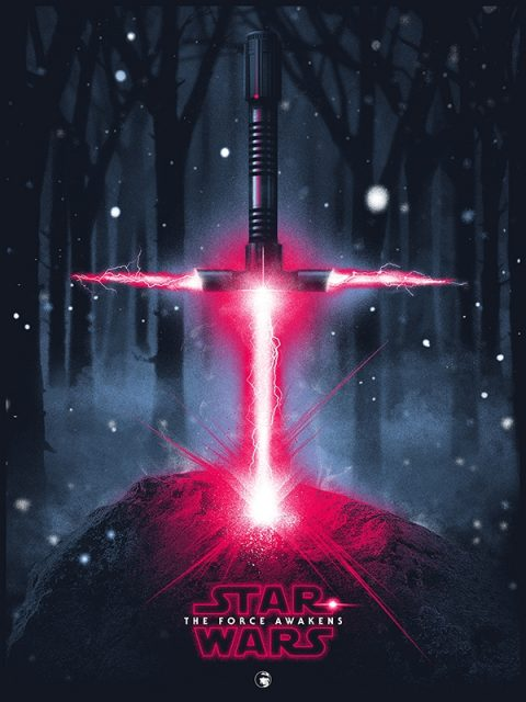 Star Wars – A Lightsaber in the Stone