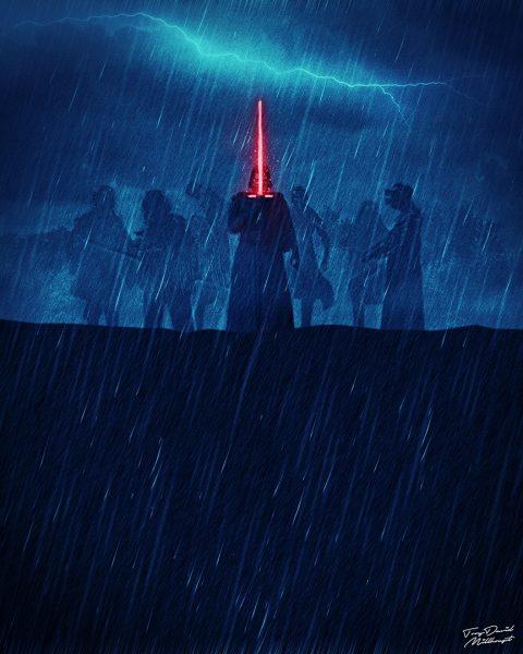 The Force Awakens Quadriptych III