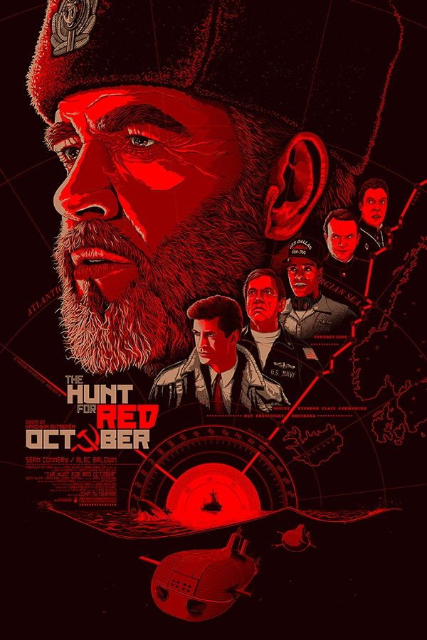 the hunt for red october posterspy