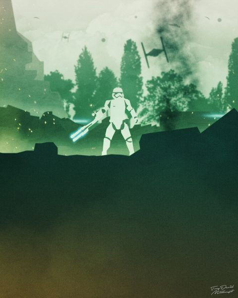 The Force Awakens Quadriptych IV