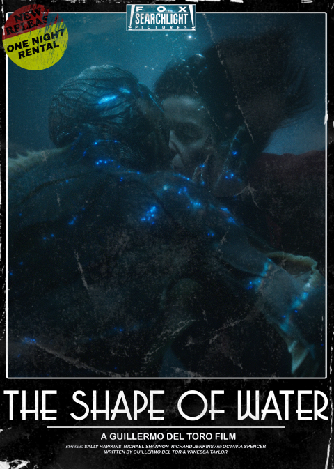 The Shape of Water (VHS)