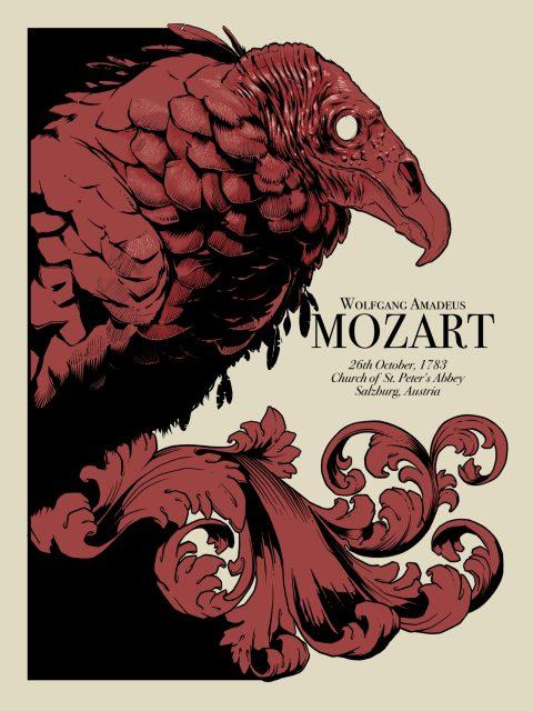 Mozart gig poster