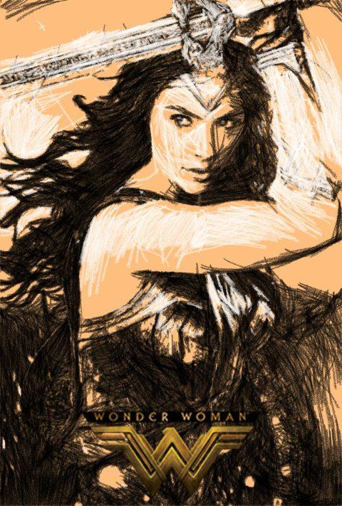 Wonder Woman 2nd Poster