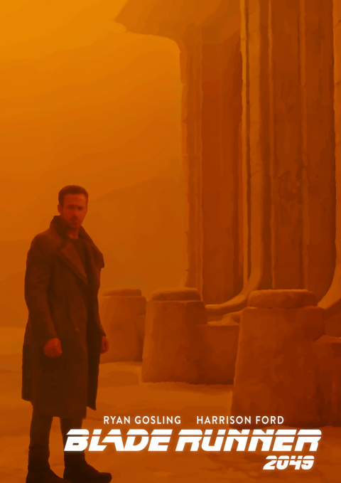 Alternative Digital Oils Blade Runner 2049 Poster