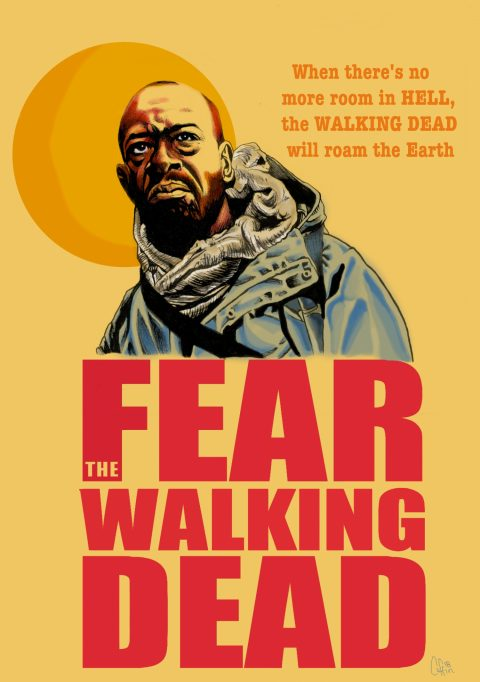 The Walking Dead Fears Morgan