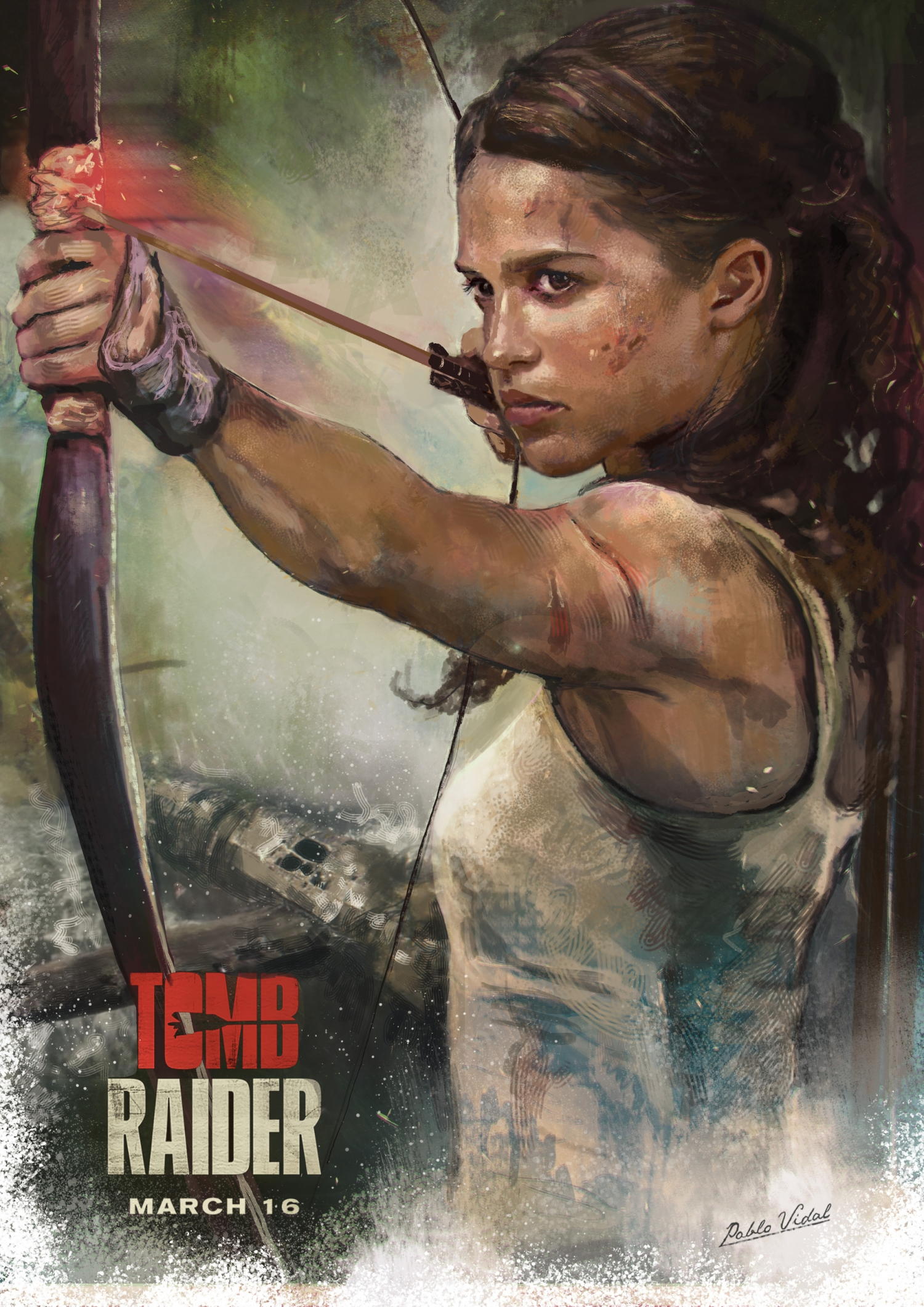tomb raider movie poster hd