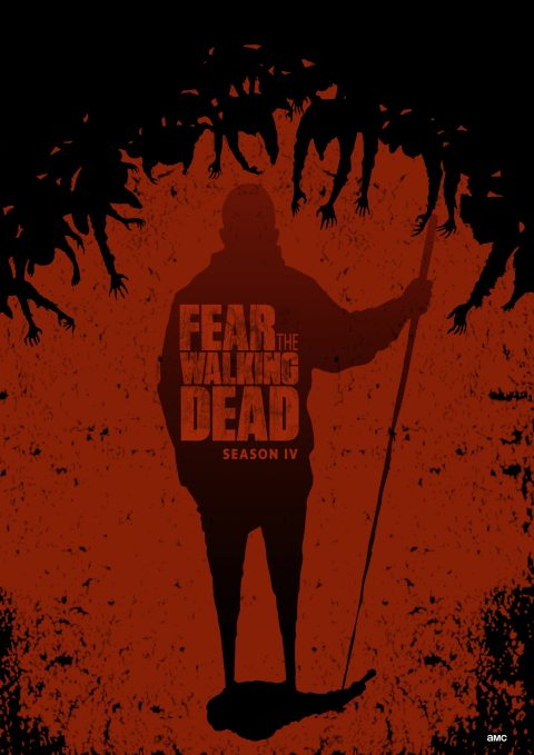The shadow (red version). Fear the walking dead. Season IV