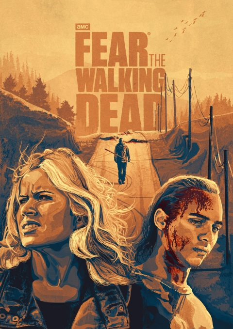 Fear The Walking Dead – Season 4. Morgan's Arrival.