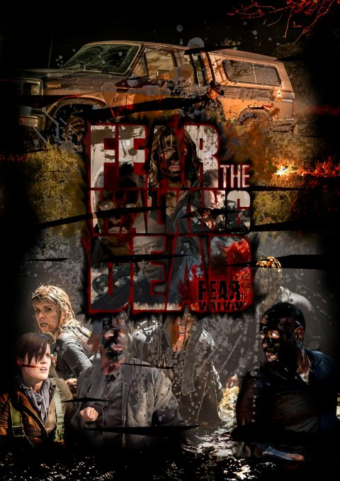 Fear The Walking Dead Season 4 Poster. #FEARTWD-ES