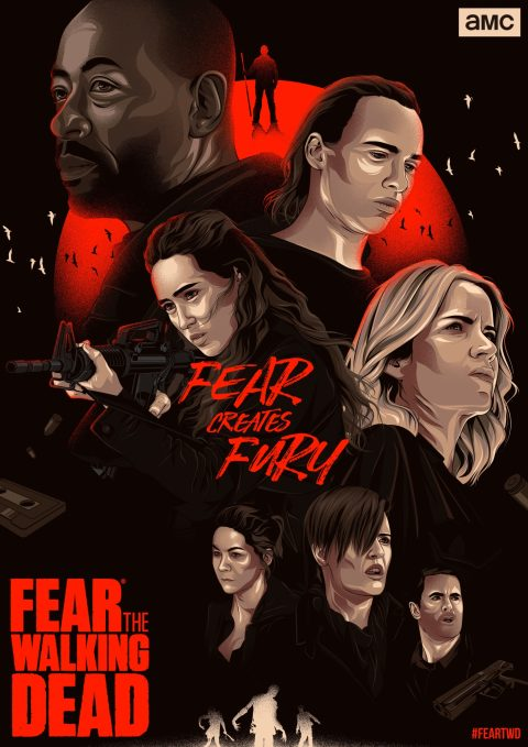 Fear the Walking Dead Season 4 Alternative Poster